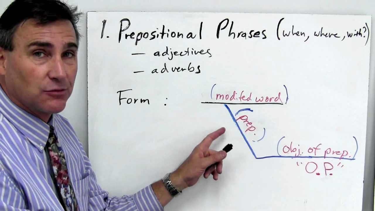 diagram prepositional phrases 2006 chevy 2500hd stereo wiring part 1 understanding and diagramming youtube