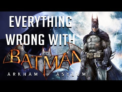 GamingSins: Everything Wrong with Batman Arkham Asylum