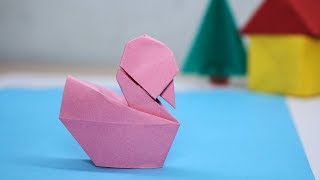 Easy Origami Swan 3D -  How to Make Swan 3D Step by Step