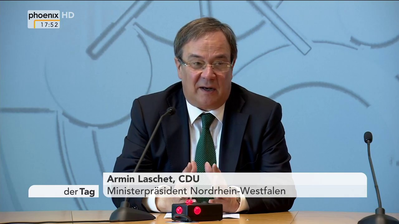 Pressekonferenz Armin Laschet Heute