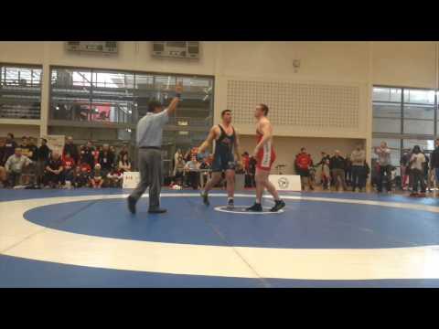 2015 Senior Greco-Roman National Championships: 98 kg Angus Cowell vs. Ruslan Bollaev
