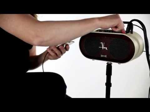 In The Studio: VOX SOUNDBOX Mini Stereo Amplifier