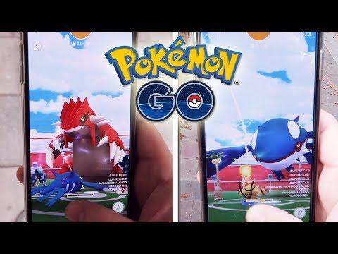 ¡CAPTURO GROUDON y KYOGRE! CONSEGUIRÉ el NUEVO POKÉMON LEGENDARIO SHINY de Pokémon GO!? [Keibron] thumbnail