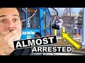 he almost was arrested for doing this!