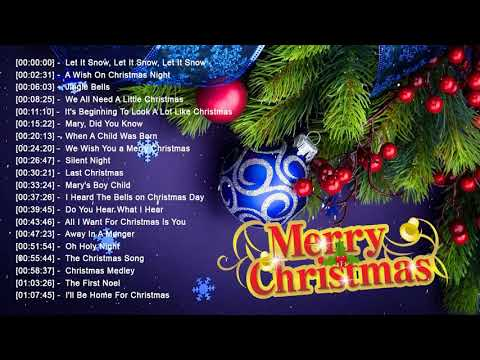 Best Christmas Songs 2018 - Nonstop English Christmas Songs - Most Classic Christmas Songs
