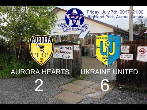 AURORA HEARTS   vs    UKRAINE UNITED      2  :  6