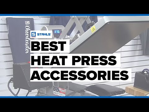 Heat Press Accessories: What Heat Press Supplies To Use And When
