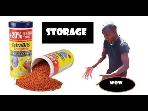 How Do You Store Dry Fish Food?