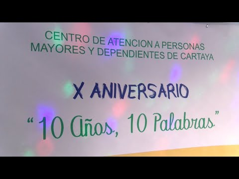El Centro de Mayores y Dependientes de Cartaya cumple 10 años