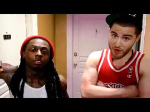 Mike Posner ft Lil Wayne  Bow Chicka Wow Wow Remix Lyrics New! 2011