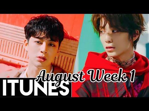 [TOP 30] US iTunes Kpop Chart 2018 [August Week 1]