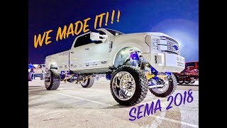 We FINISHED the TRUCK... inside the SEMA show!!