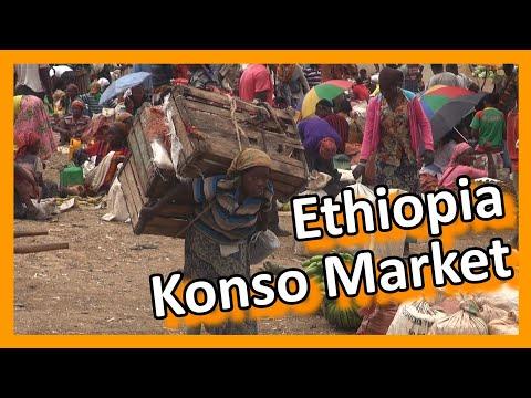 Ethiopia - Konso Market