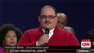 Ken Bone: The winner of the second presidential debate