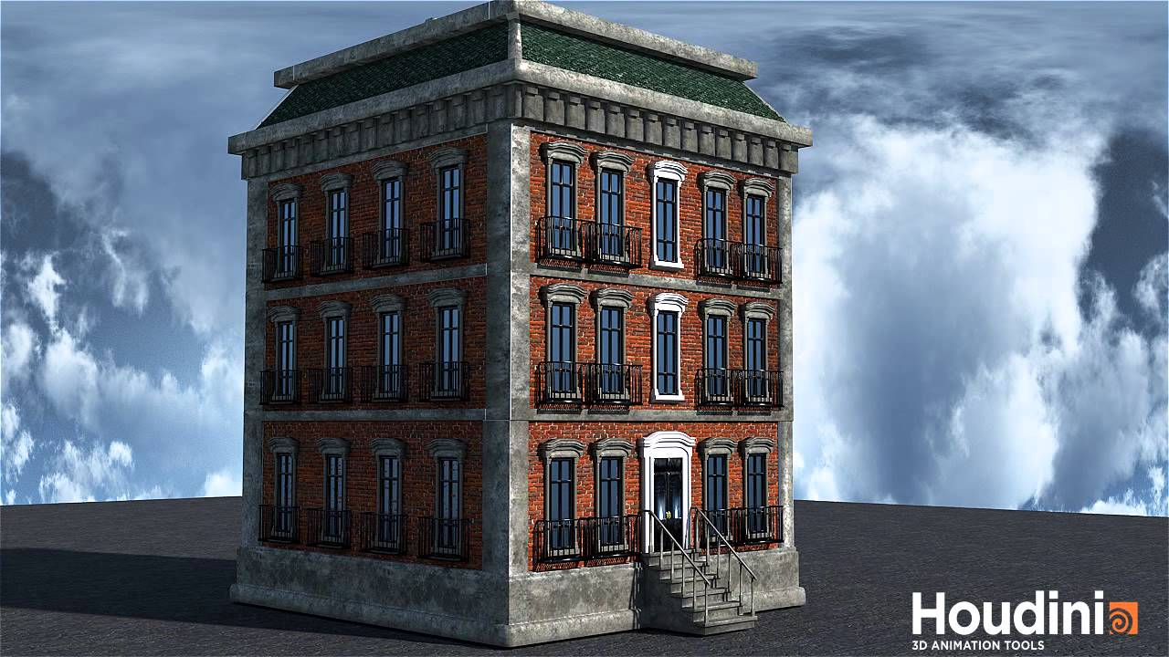 Houdini Procedural Building