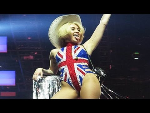 Miley Cyrus' Nasty Performance At O2 Arena In London -- Bangerz Tour Concert