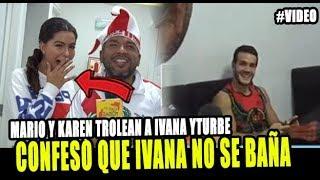 MARIO IRIVARREN CONFESÓ QUE IVANA NO SE BAÑA Y LE RECUERDA...