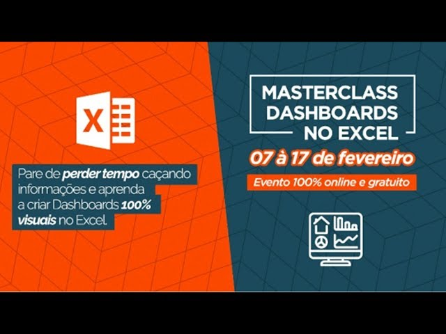 Masterclass Dashboards Excel