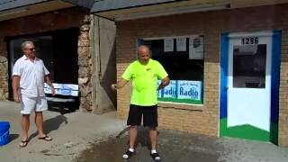 2014 08 20 ALS ICE BUCKET Challenge by Dr  Don Shelton Challenging Dave Raaf