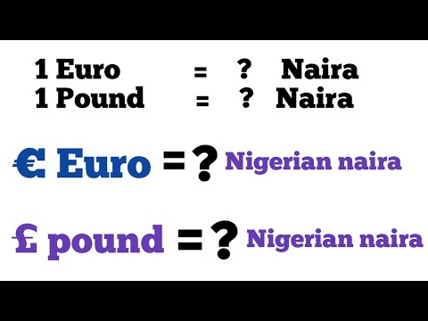 Gbp To Naira Euro To Naira L Pound To Naira L Euro To Naira Exchange Rate Today,1 Pound To Naira