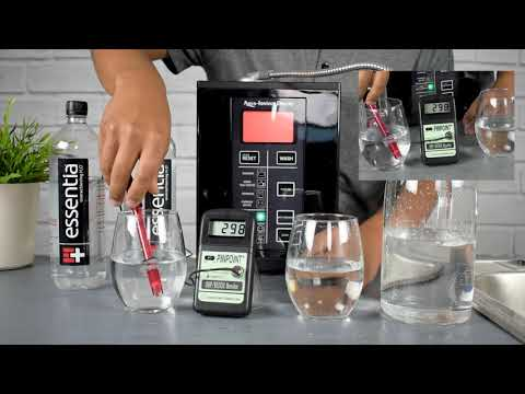 Essentia Alkaline Bottled Water Review | Test PH, ORP And Hydrogen | Aqua Ionizer Comparison