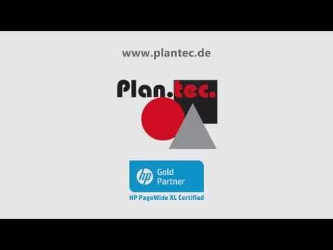 HP PageWide XL 8000 mit Onlinefalter - bei Plan.tec.