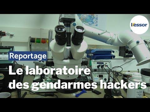 Les coulisses du laboratoire des hackers de la Gendarmerie