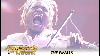 Brian King Joseph Gets STANDING OVATION From AGT Judges & Audience 😱👏 | America's Got Talent 2018