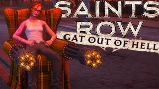 Saints Row Gat Out of Hell - Poltrona MINIGUN