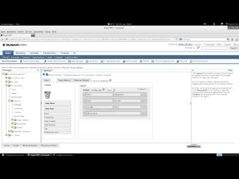 SugarCRM Community Edition - create a custom Module with Module Builder