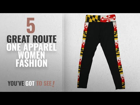 Route One Apparel Women Fashion [2018 Best Sellers]: Route One Apparel Maryland Flag Sides