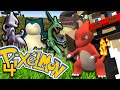 Minecraft: Pokemon Ep. 4 - CRAZY LEVEL UPS
