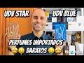 Resenhas dos Perfumes UDV Blue & UDV Star: Perfumes Importados Baratos