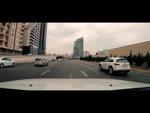 Driving Downtown - Baku City 4K - AZERBAIJAN