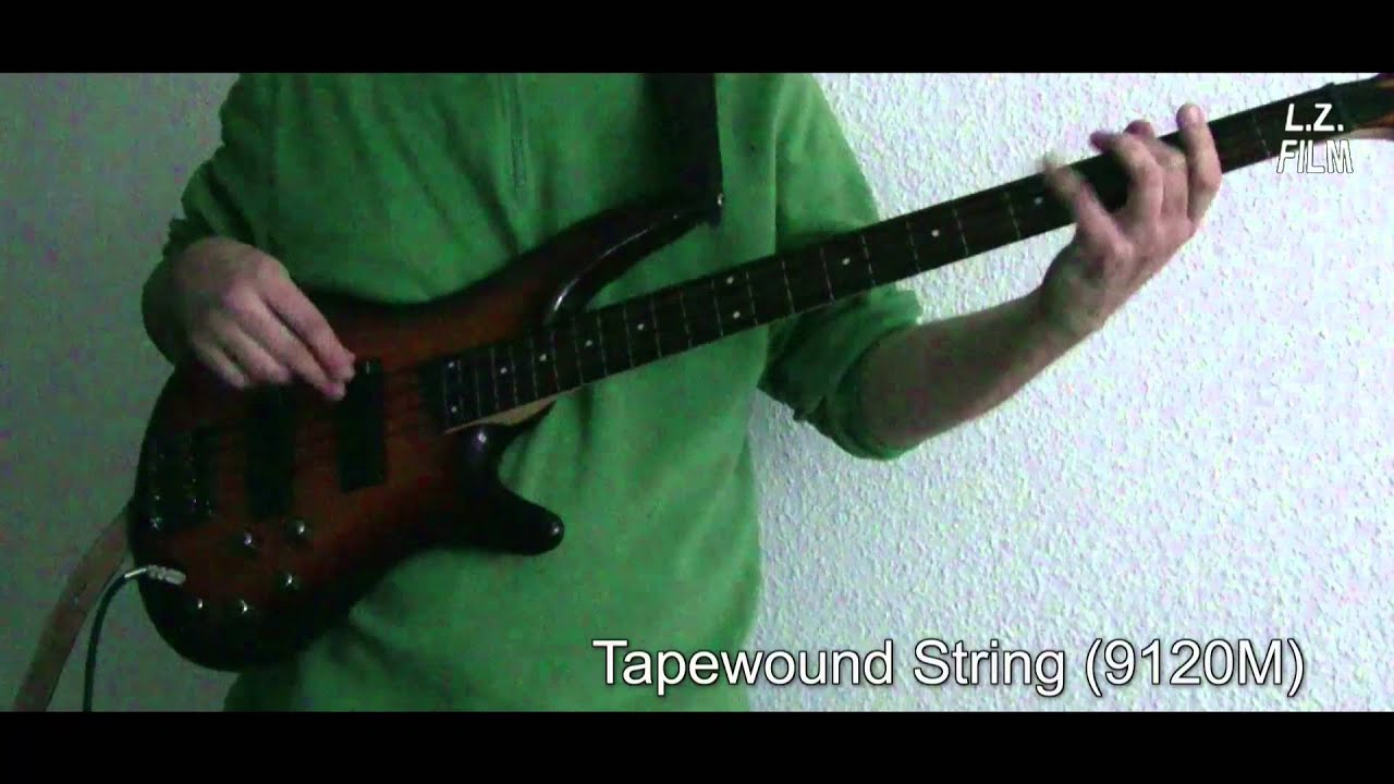 flatwound vs tapewound fretless bass youtube. Black Bedroom Furniture Sets. Home Design Ideas