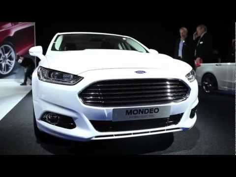 New Ford Mondeo sneak preview - Paris Motor Show 2012