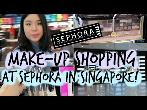 Come SEPHORA Make-up Shopping with Me in Singapore! | roseannetangrs