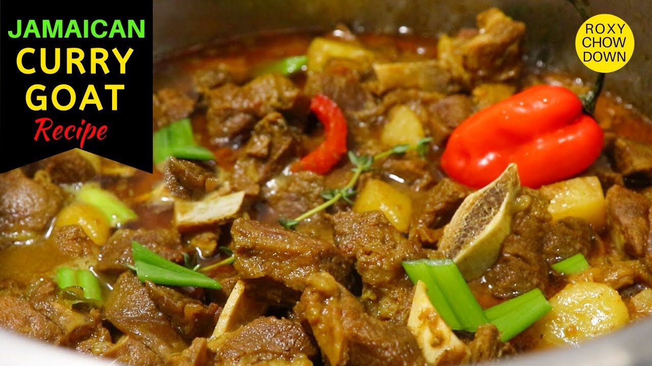 Easy, Step-By-Step Jamaican CURRY GOAT Recipe! How to Wash, Season & Cook delicious Curry Goat.