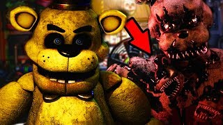 DO NOT MAKE THE SECRET KITCHEN ANIMATRONIC ANGRY..   Five Nights at Freddys Ultimate Custom Night