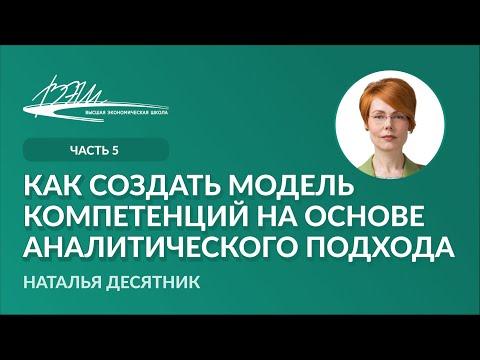 Как создать модель компетенций на основе аналитического подхода
