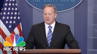 Sean Spicer: President Trump Maintains Belief That Millions Voted Illegally In Election | NBC News