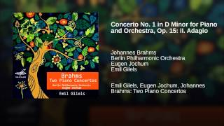 Concerto No. 1 in D Minor for Piano and Orchestra, Op. 15: II. Adagio