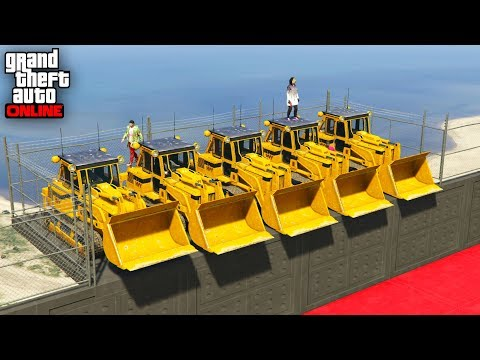 MINIJUEGO! GRUAS vs MINI COCHES! - GTA 5 ONLINE - GTA V ONLINE