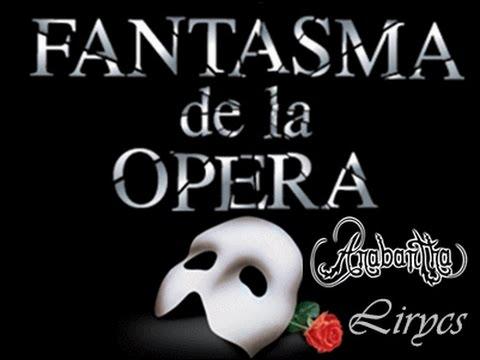 Fantasma de la Ópera Anabantha Letra