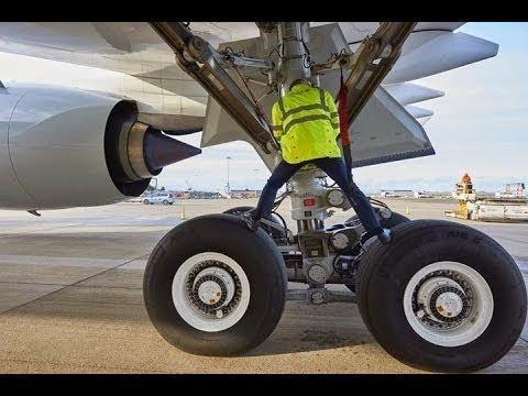 Airbus A320 Main Landing Gear Wheel Removal Installation