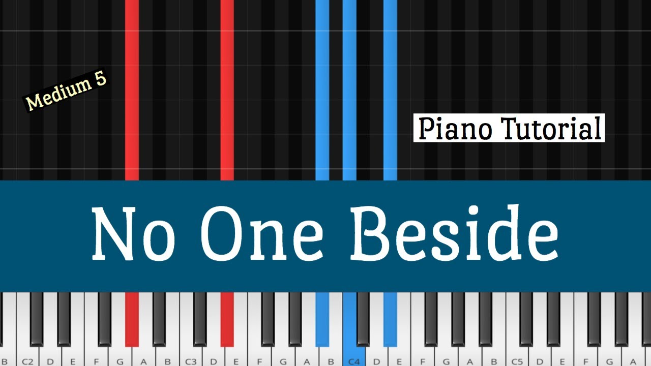 Elevation Worship   No One Beside Piano Tutorial How to Play
