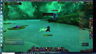 emerald dream cleansed by subtlety rogue purged void creatures from emerald dream.