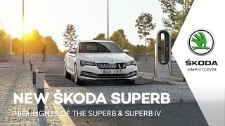 The updated ŠKODA SUPERB and SUPERB iV: Highlights thumbnail