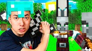 My House Got RAIDED in Minecraft 1.14?! - Episode 3