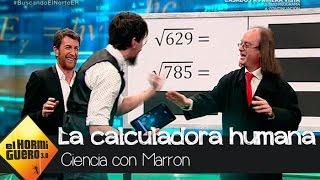 Jose, la 'calculadora humana' pone a prueba la aplicación matemática definitiva - El Hormiguero 3.0
